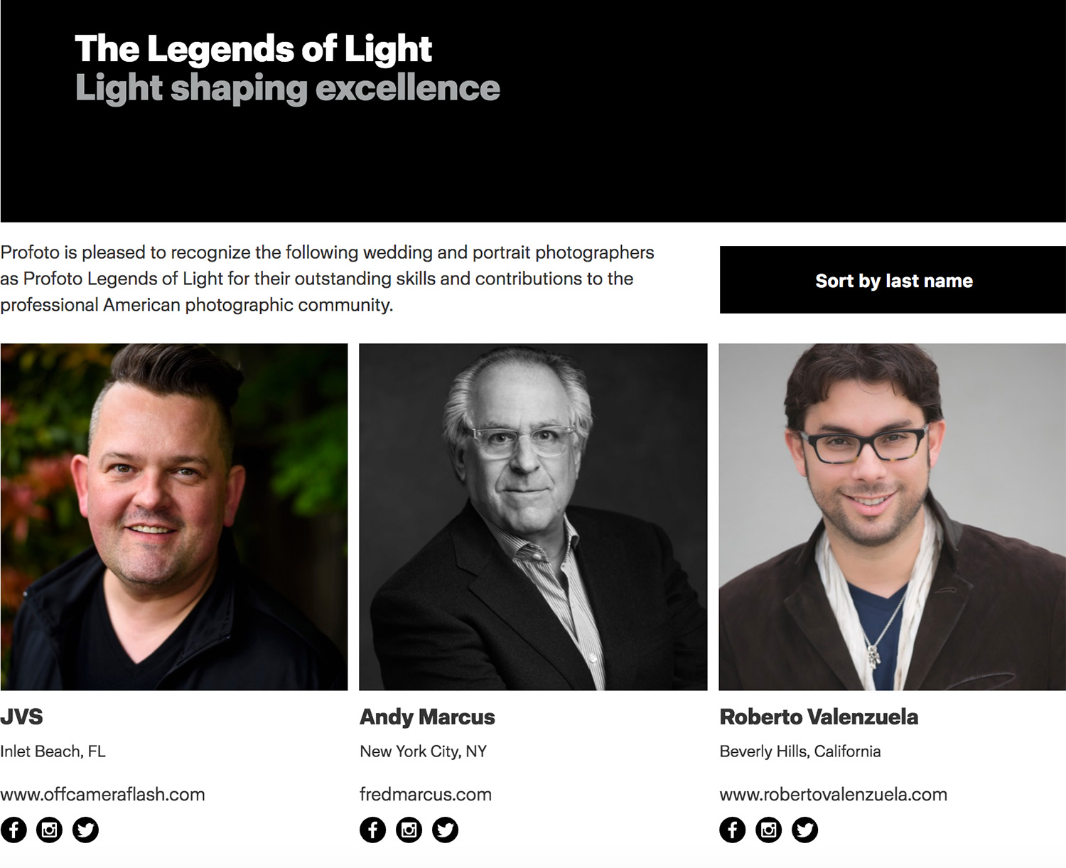 JVS Profoto Legend of Light